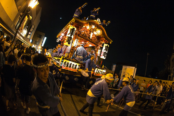 Omikoshi (portable shrine), Gion Festival Narita Japan