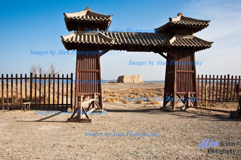 Jade Gate, Dunhuang, China