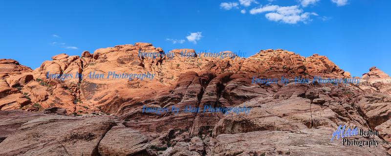 Red Rock Canyon, Panorama, Nevada