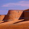 City Walls, Khiva, Uzbekistan