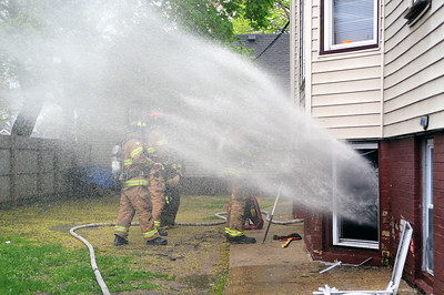 May 13th, 2009 @ 1655hrs  1535 Winslow Sreet Apartment #5   Engines 1 & 2, Truck 1, Rescue 1 (ALS), Car 43 (Safety Officer), Car 41 (Battalion Chief), Quint 7 (RIT)...  Accidental kitchen fire caused by a candle being knocked over onto a stuffed chair igniting it.  The tenants in the apartment received assistance from the Red Cross.