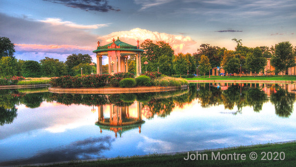 Pagoda Circle in Forest Park
