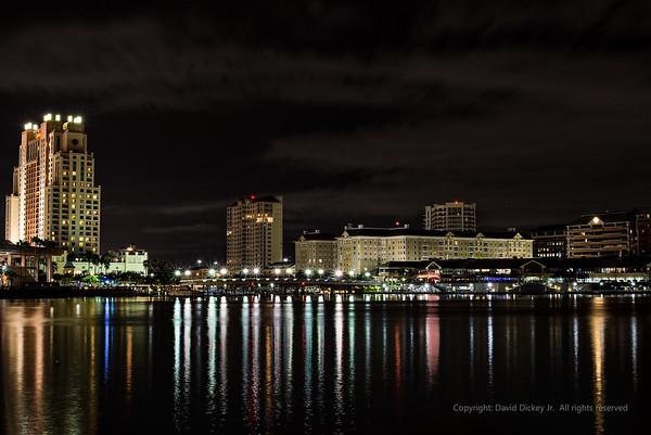 Saturday night at Jackson's.  Tampa, Florida