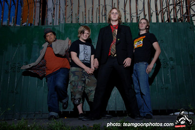 Ryan Mudd and The Stuff photo shoot