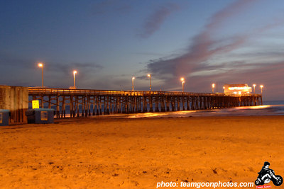 Newport Pier at Sunset - Newport Beach, CA