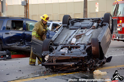Car crash - April 2006 - Los Angeles, CA