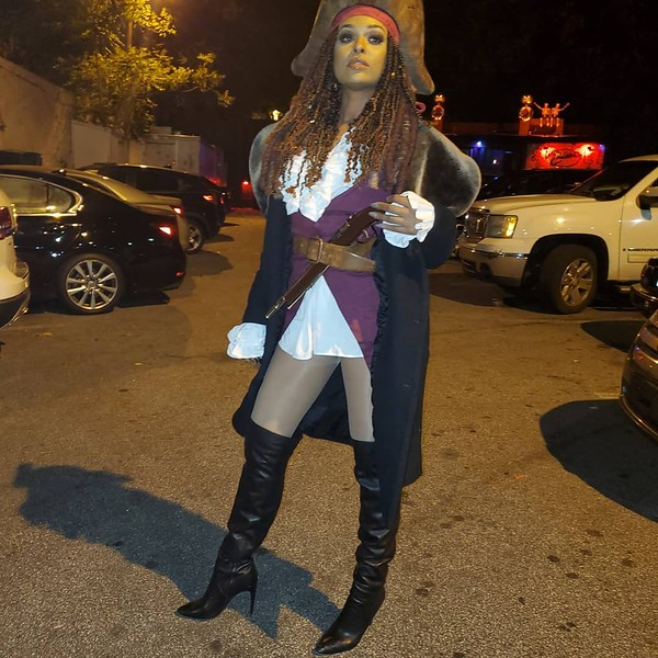 Captain Jack Sparrow Twin Sister, Jackie Sparrow - October 31, 2019