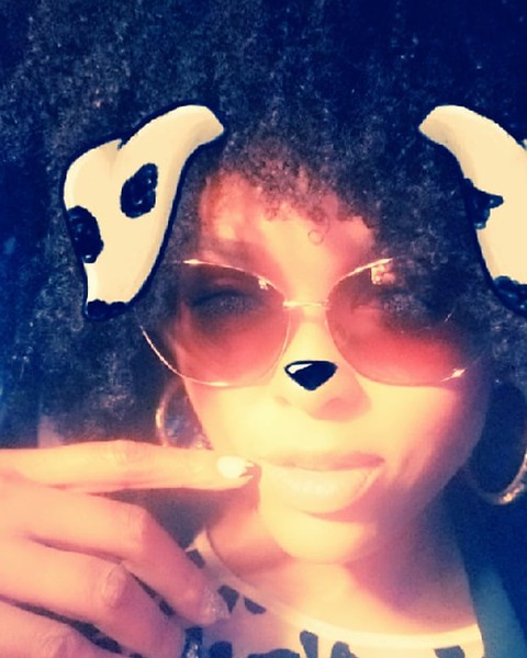 #chillin #shades #naturalhair #livinglife #relax #goodvibee