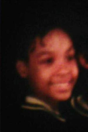 Demetria McKinney when she was 6-8 years old