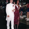 Demetria McKinney was homecoming attendant Sophomore year of high school.
