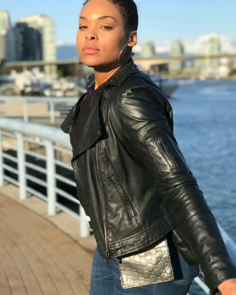 Out and About in Vancouver... Beautiful Day Has Demetria McKinney Feeling Radiant! - April 24, 2019