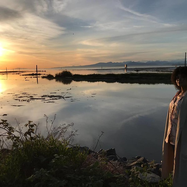 There is so much beauty all around you if you just take the time to notice... a lesson Demetria McKinney is learning while here in Vancouver filming Motherland: Fort Salem. - May 20, 2019