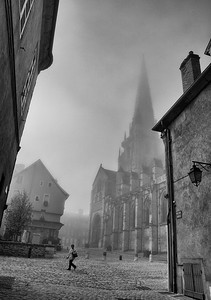 Foggy Morning, France