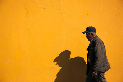 Shadow, Oaxaca, Mexico
