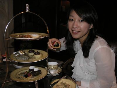 2006-06-04 Afternoon tea at Ritz-Carlton Half-moon Bay