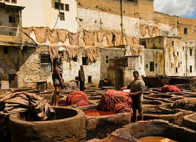 Fez, Morocco ...