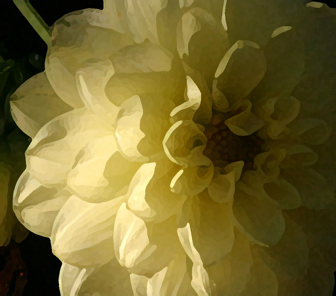 yellow-dahlia-painting