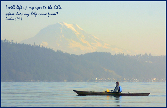 Mt Rainier near Gig Harbor Washington