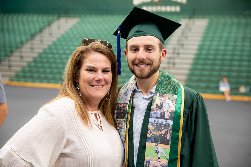 Cal Poly 2019 Athlete Graduation. Photo by Owen Main 6/14/19