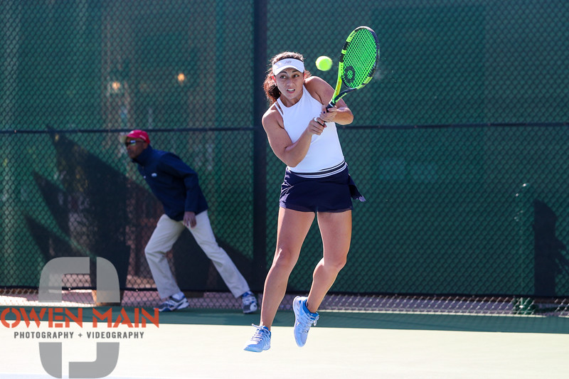 Maegan Manasse. The Central Coast Pro Tennis Open was held at Templeton Tennis Ranch in Templeton, Ca. 9/23/18<br /> <br /> Photo by Owen Main