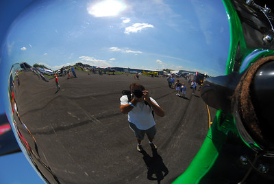 Self Portrait at the air show