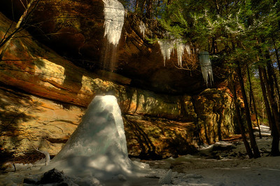 Ash Cave Ice February 2010.