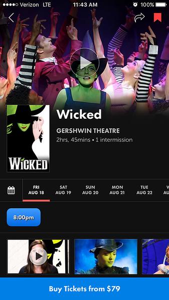 Broadway.com App Promo Photos - August 2017