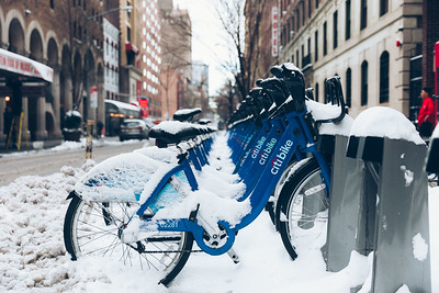 Snow day on Broadway