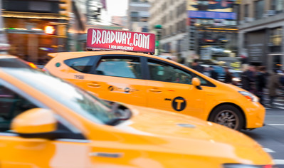Taxi Toppers - Broadway.com ads