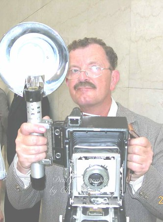 """I was a Russian press photographer in the docu-drama """"H G Wells"""""""