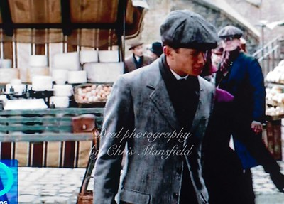 This was my first appearance in Downton abbey.. I went on to work a few times as a body double for the Sgt Willis Character