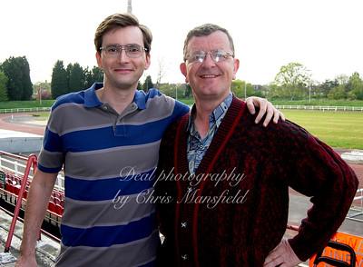 "Me and David tennant in ""Learners""..... nice bloke"