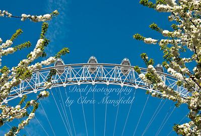 May 2013.. London eye