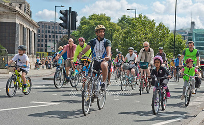 August 9th 2014 .. London cycle ride