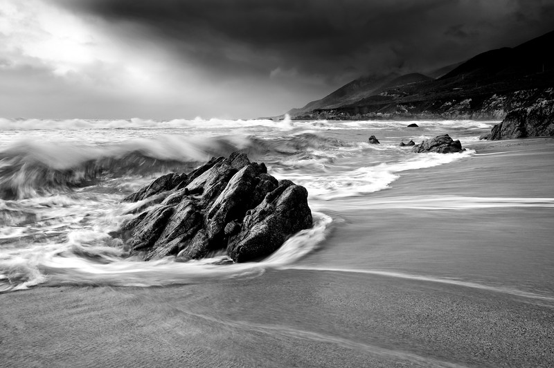 Changing Light Over Garrapata Beach