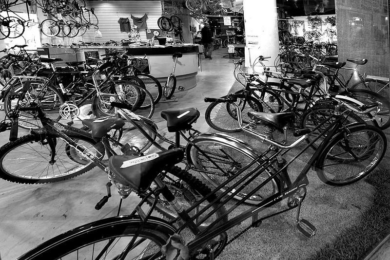 Bikes at Eau Claire Market