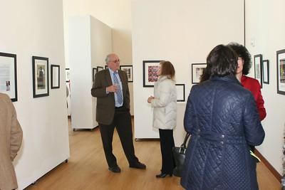Joe Gascho Exhibit at GWU 20130426