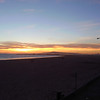 A nice sunset from the Seal Beach Pier on a brisk evening bike ride.<br /> Taken with my phone.