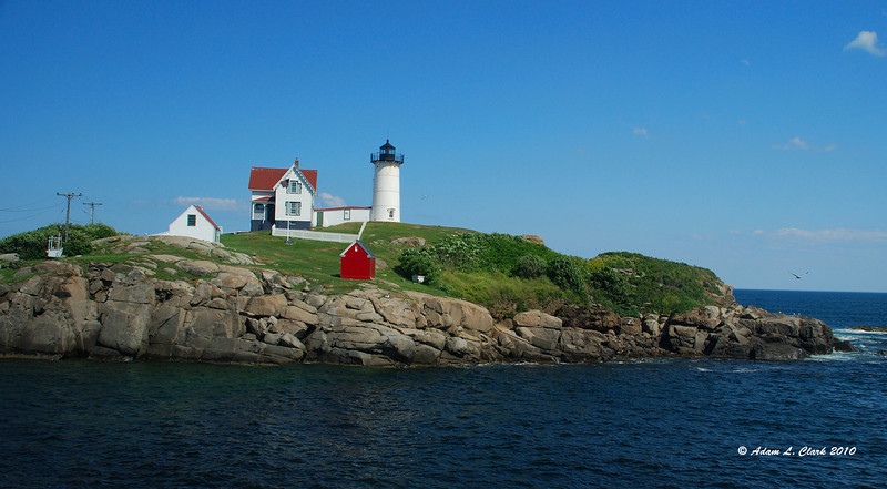 """07.19.2010  One from yesterday, after we finished at the beach we also went to check out Nubble Lighthouse  Gallery found <a href=""""http://sdways01.smugmug.com/Travel/York-ME/"""">here</a>"""