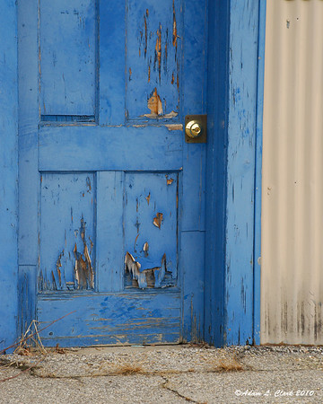 01.28.2010<br /> <br /> A door that has seen better days