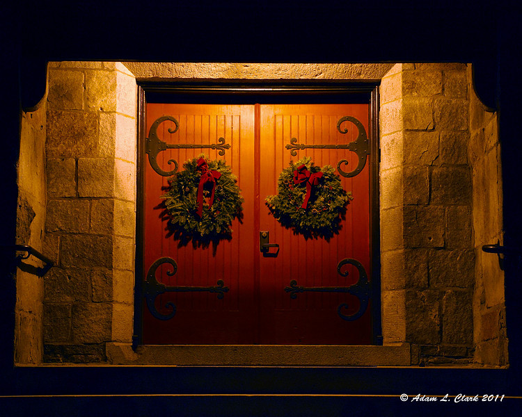 12.30.2011<br /> <br /> The doors to a church in Keene