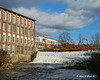 11.18.2011<br /> <br /> An old mill and dam in Lebanon, NH