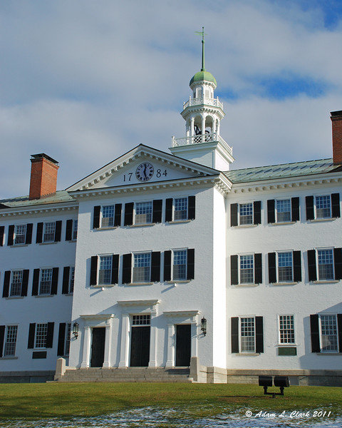 12.06.2011<br /> <br /> Dartmouth Hall on the Dartmouth College campus in Hanover, NH