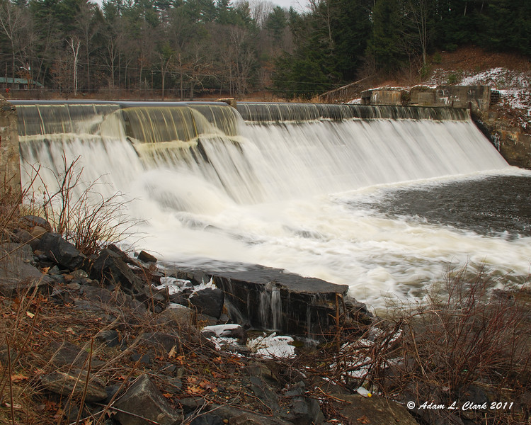 12.16.2011<br /> <br /> A waterfall near work