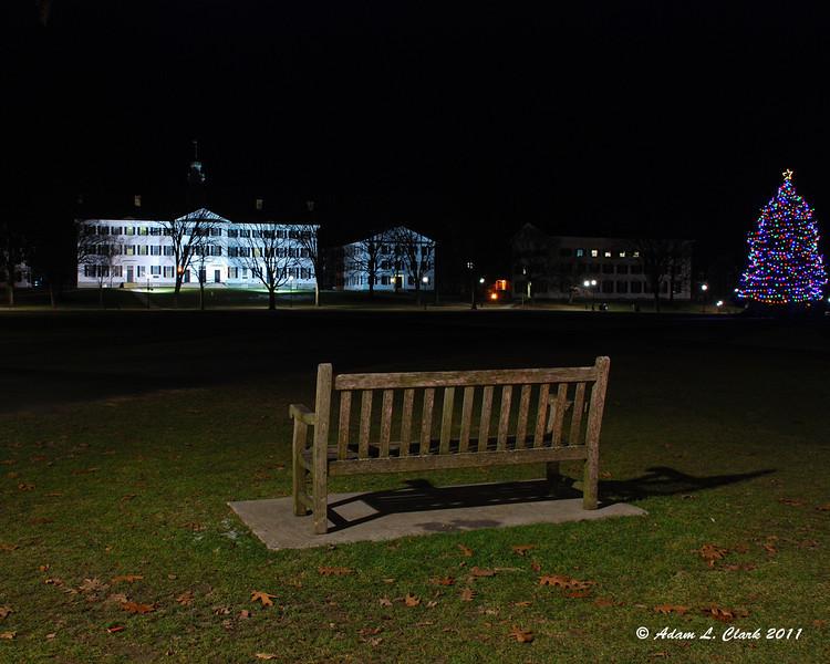 12.28.2011<br /> <br /> Dartmouth College at night