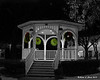12.07.2013<br /> <br /> The gazebo on the common in Keene lit up at night