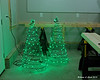 12.07.2014 <br><br>This weekend I made some outdoor Christmas decorations.  This small trees look real good lit up at night