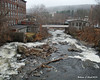 11.26.2014 <br><br>A catwalk between two old mills in Lebanon, NH