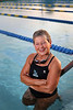 Photo / Candace West, for the South Florida Sun Sentinel. Reporter Eric Barton Story on Senior Athletes. <br /> April 6, 2017,<br /> Maureen Fitzpatrick, 65, is from Singer Island and part of a group of swimmers who win all kinds of medals during senior games.
