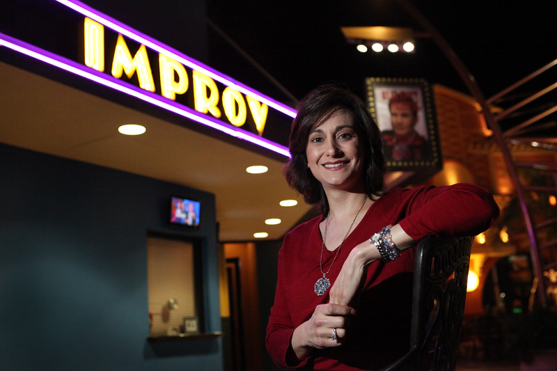 Debbie Zelman is fighting stomach cancer but still makes time to raise money for research.